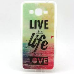 Love Cute Silicon Case For Samsung Galaxy Grand Prime G530 G5308 SM-G530H TPU Phone Cases Back Cover Skin Tempered Glass Film