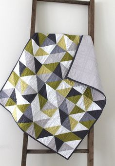 We love this modern quilt