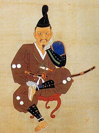 Tokugawa Ieyasu (1543-1616)  The portrait made to draw after being beaten by the Takeda army in the Mikatagahara field.