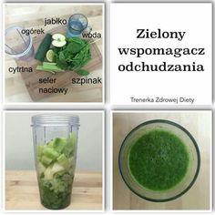WSPOMGACZE ODCHUDZANIA ??  Tak - ALE TYLKO TE NATURALNE z WARZYWNIAKA :)  NIE z APTEKI !!!!  1/2 jabłka 1/2 ogórka 1/2 cytryny 2 pędy selera naciowego + 3/4 szklanki wody