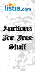 Referral Tools - Listia.com Auctions for Free Stuff  FYI:  This site is addicting like Pinterest.  I've auctioned a lot of my stuff I don't use and won a lot of beautiful jewelry, dog coats, coins and seeds.  I've been using Listia since 11/2014.  Enjoy