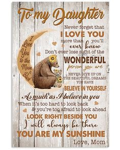 Shop for unique Mother apparel and homegoods on CoolFamilyTee. Find the perfect Mother t-shirts, mugs, posters, phone cases, and more. Mothers Love Quotes, Sister Poems, My Children Quotes, Daughter Poems, Birthday Quotes For Daughter, Mother Daughter Quotes, I Love My Daughter, Son Quotes, Mother Quotes