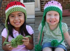 Pass the Cereal: Watermelon Hat Pattern