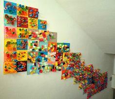 paper sculpture display