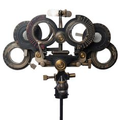 Opthamologist's Eye-Testing Device  American  circa 1890-1900