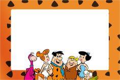 Convite, Moldura e Cartão Flintstones: