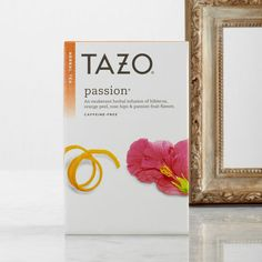 Tazo Passion tea--in my bug out bag to a tropical island...