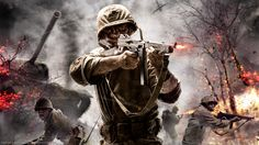 Call of Duty Game - http://www.0wallpapers.com/3170-call-of-duty-game.html