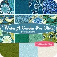 Water A Garden for Olivia Fat Quarter Bundle Lida Enche for In The Beginning Fabrics