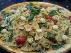 Jarrah Jungle: Recipe: Caprese Style Pasta Salad