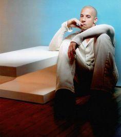 Vin Diesel Vin Diesel The Rock, Vin Diesel Shirtless, Dom And Letty, Make Her Smile, Celebs, Celebrities, Gorgeous Men, Celebrity Crush, Yorkie