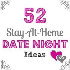 Fun & Affordable At-Home Date Night Ideas
