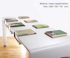 Table d'exposition pour livres - Bibliothèque