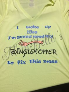 Dinglehopper shirt