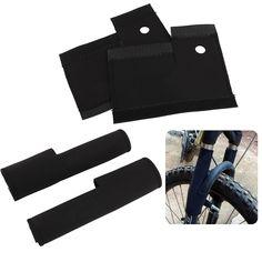 2 Pcs/paire Vélo De Route Vélo Vélo VTT Avant Cadre Fourche Wrap Housses De Protection Garde Protecteur Accessoires Vélo