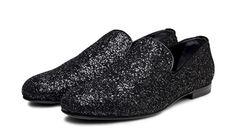 Jimmy Choo glitter loafers $880