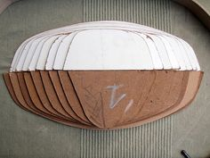 Building a Greenland Kayak - Templates PapeMartin on Flickr