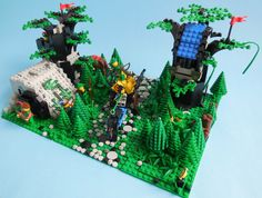 Forum LUGPol :: Zobacz temat - 1974 Triple Pack Lego System, Lego Castle, Awesome Lego, Cool Lego Creations, Lego Models, Lego Projects, Lego Stuff, Lego Moc, Building Toys