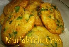 Quick and Easy Recipes Vegetable Side Dishes, Vegetable Recipes, Potato Patties, Good Food, Yummy Food, Potato Dishes, Turkish Recipes, Fabulous Foods, Side Dish Recipes