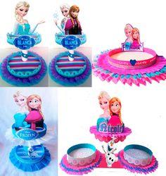 dulceros frozen - Buscar con Google Frozen Theme Party, Frozen Birthday Party, 3rd Birthday Parties, Frozen Princess, Anna Frozen, Disney Frozen, Frozen Candy Table, Paper Cake, Party Themes