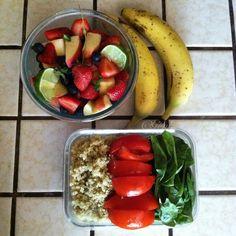 Almost Raw Vegan Lunch Ideas