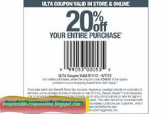 Ulta Coupons Ends of Coupon Promo Codes MAY 2020 !, store region in United Ulta as & in known a the it Salon, place this headqua. Ulta Coupon, Lowes Coupon, Sherwin Williams Coupon, Walmart Makeup, Coupons For Boyfriend, Burlington Coat Factory, Grocery Coupons, Mcdonalds Coupons, Pizza Coupons