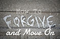 How to Forgive and Move On Carrying around resentment and anger is so unhealthy. It is hard to forgive someone who did you wrong, but forgiveness is a powerful thing. Forgiveness is accepting what happened, acknowledging your feelings, and then letting them go. Forgiveness isn't just for the person who hurt you, it for y...  Read More at http://www.chelseacrockett.com/wp/lifestyle/how-to-forgive-and-move-on/.  Tags: #Forgive, #Forgiveness, #GirlAdvice, #GirlStuff, #Gir