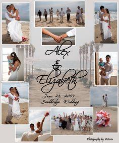Beautiful Beach Wedding Photography