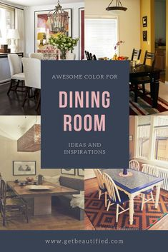 Our dining room color ideas gallery features our most preferred color pattern. From contemporary to conventional, get inspired by these fashionable dining room paint color. #diningroom#paint#color#ideas#design#wall#table