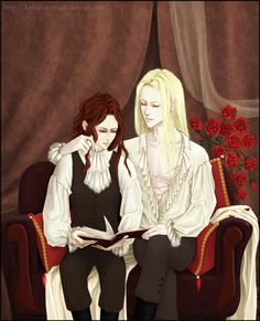 Amadeo and Marius by KarlaFrazetty.deviantart.com on @DeviantArt