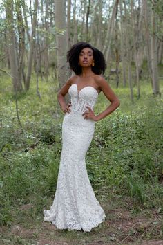 Birdie by Allure Bridals- Whimsical Bohemian style lace wedding dress that features exposed boning and detachable off the shoulder sleeves Bridal Dresses, Flower Girl Dresses, Bridesmaid Dresses, Wedding Bride, Wedding Gowns, Lace Wedding, Allure Couture, Bridal And Formal, Formal Gowns