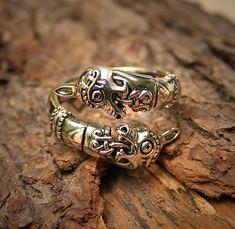 Viking horse ring
