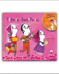 """PITUSA SEMIFUSA (Libro-disco) Se nos libramos da idea de que só uns poucos privilexiados poden facer música, a nosa sociedade terá máis paz. Iso di Olga Brañas, a creadora do libro-disco 'Pitusa Semifusa'. Música para aprender de música. """"As nosas nais, avoas, bisavoas e tararavoas xogaron un papel vital na transmisión oral da música popular"""" (Magazine Cultural Galego) http://libreriaabrente.es/es/musica-galega/2119-pitusa-semifusa.html"""