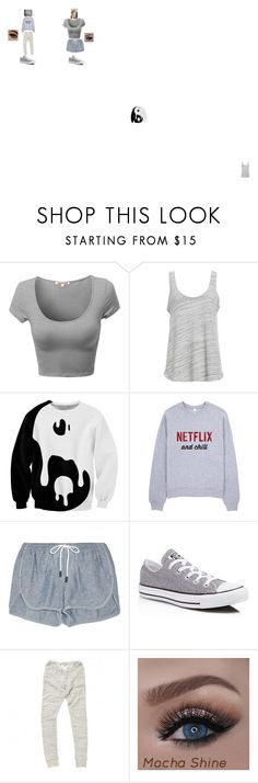 """Best Friends :)"" by infinitee-vibez on Polyvore featuring Project Social T, rag & bone, Converse and Mes Demoiselles..."