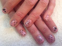 Shellac of course! Hollywood Hair, Shellac, Hair Designs, Valentines, Nails, Beauty, Valentine's Day Diy, Finger Nails, Hair Models