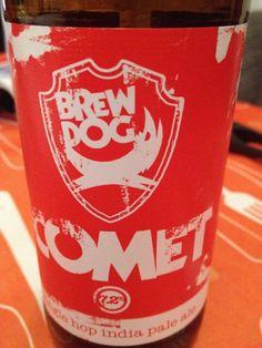 BrewDog IPA is Dead - Comet Brewed by BrewDog Style: India Pale Ale (IPA) Ellon, Aberdeenshire, Scotland