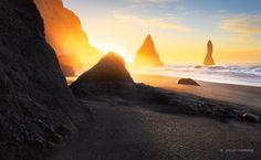 Vik Beach by Jarrod Castaing on 500px