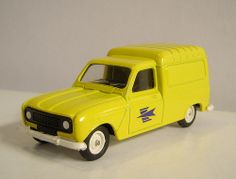 Solido 42 Renault 4 fourgonnette postes 01