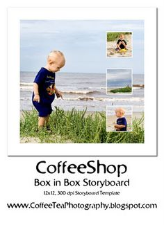 The CoffeeShop Blog: CoffeeShop Box in Box Storyboard Template!