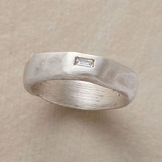 """ANOMALY DIAMOND RING They say it """"Eludes regularity"""" ...Really? I don't think so...I find it very unique."""