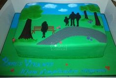 Park summer cake - La Forge à Gâteaux www.laforgeagateaux.com
