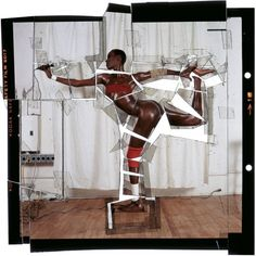"Jean-Paul Goude, ""Grace, Revised and Updated, Cut-Up, Ekta"", NY, 1978"