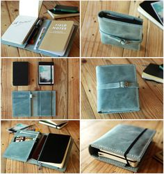 This Moleskine travel journal cover (in black)  Except for him this would be for…