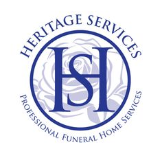 round logo for heritage services funeral homes by thelogoboutique.com Best Logo Design, Custom Logo Design, Custom Logos, Best Logo Maker, Funeral Homes, Round Logo, Round Design, Cool Logo, Logo Design Services