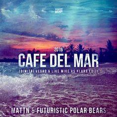 Ik heb zojuist Shazam gebruikt om Cafe Del Mar 2016 (Dimitri Vegas & Like Mike Vs. Klaas Radio Mix) door Mattn & Futuristic Polar Bears te ontdekken. http://shz.am/t313846138