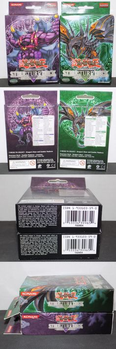 Yu-Gi-Oh Sealed Decks and Kits 183452: Zombie Madness And Dragon S Roar Structure Deck Yugioh Unlimit Edition New Sealed -> BUY IT NOW ONLY: $69.99 on eBay!