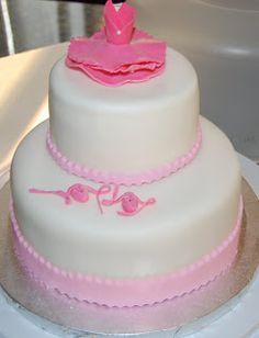 Ballet Dancer Cake