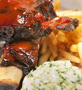 The Smoke BBQ - Authentic American BBQ - great burger - top 5 favourite in Brisbane Smoke Bbq, The Smoke, New Farm, Yummy Food, Tasty, Buffalo Wings, Bbq Ribs, Good Burger, American Food