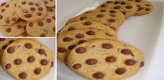 Después de que aprendí a hacer las mejores galletas con gotitas (chips) de chocolate del mundo yo nunca más compré!   Receitas Soberanas