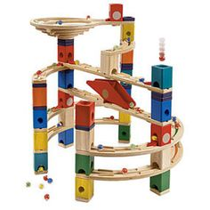 Quadrilla®: Twist and Rail Set - Building Sets & Blocks - MetKids - The Met Store